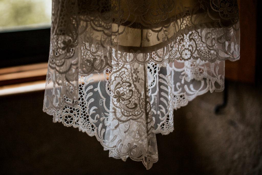 Detalle vestido Cristiana